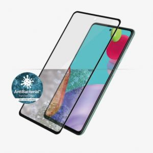 Panzer Glass-7253-PanzerGlass Screen Protector - Case Friendly - For Samsung Galaxy A52 / Galaxy A52 5G - Black - Full Frame Coverage