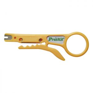 ProsKit-8PK-CT001-ProsKit UTP/STP Cable Stripper - A simple tool for UTP/STP cable stripping. Also a 110 punch down tool