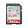 Sandisk-SDSDUNR-256G-GN6IN-SanDisk 256GB Ultra SDHC SDXC UHS-I Memory Card 100MB/s Full HD Class 10 Speed Shock Proof Temperature Proof Water Proof X-ray Proof Digital Camera