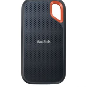 Sandisk-SDSSDE61-500G-G25-SanDisk Extreme Portable SSD 500GB USB 3.2 Gen 2 Type C  Type A compatible 1050MB/s 1000MB/s IP55 dust-water resistance 256-bit AES hardware 5YR WTY