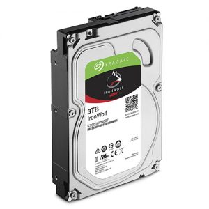 """Seagate-ST3000VN007-Seagate 3TB 3.5"""" IronWolf NAS 5900RPM SATA3 6Gb/s 64MB HDD. 3 Years Warranty"""