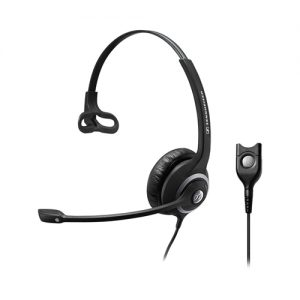 Sennheiser-1000518-EPOS | Sennheiser Wide Band Monaural headset with Noise Cancelling mic - low impedance for use with mobile phones and IP phones