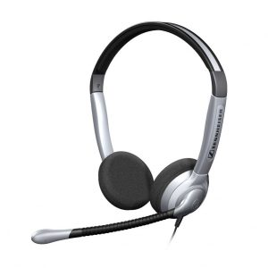Sennheiser-504179-Sennheiser SH 358 USB Over the Head Monaural Wide Band Headset (504179)  -  Requires Easy Disconnect Cable