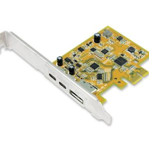 Sunix-UPD2018-Sunix USB 3.1 10G  DisplayPort Alt-Mode PCI Express Host Card with Dual USB Type-C Receptacles