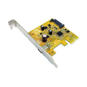 Sunix-USB2311C-Sunix USB2311C one USB 3.1 Enhanced SuperSpeed Type-C Single port PCI Express Host Card (NO cable including in)