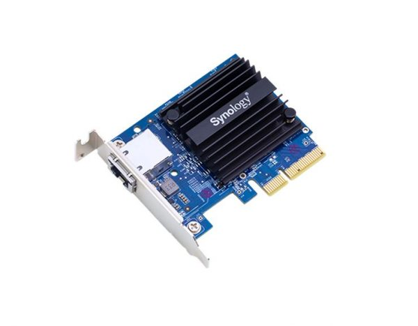 Synology-E10G18-T1-Synology E10G18-T1 10Gbe single Ethernet Adapter Card for RS3614xs+