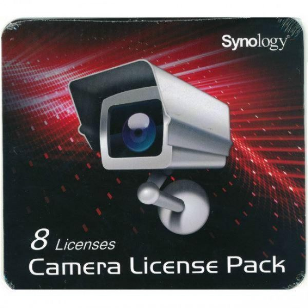 Synology-SY60030-Synology SY60030 8 Pack Synology Surveillance Device License Pack