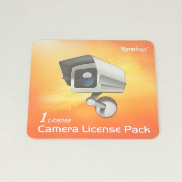 Synology-license PK (1)-Synology Surveillance Device License Pack For Synology NAS - 1 Additional Licenses