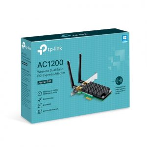 TP-LINK-Archer T4E-TP-Link Archer T4E AC1200 Wireless Dual Band PCIe Adapter