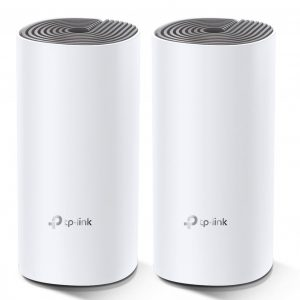 TP-LINK-Deco E4(2-pack)-TP-Link Deco E4(2-pack) AC1200 Whole Home Mesh WiFi System