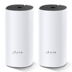 TP-LINK-Deco M4(2-pack)-TP-Link Deco M4 (2-pack) AC1200 Whole Home Mesh Wi-Fi System.  ~260sqm Coverage