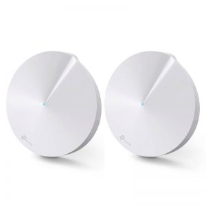TP-LINK-Deco M5(2-pack)-TP-Link Deco M5 (2-Pack) Whole Home Mesh Wi-Fi 1300Mbps System
