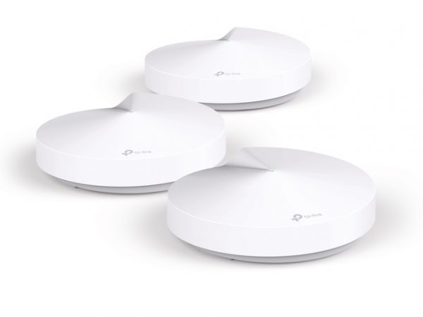 TP-LINK-Deco M5(3-pack)-TP-Link Deco M5 (3-Pack) Whole Home Mesh Wi-Fi 1300Mbps System