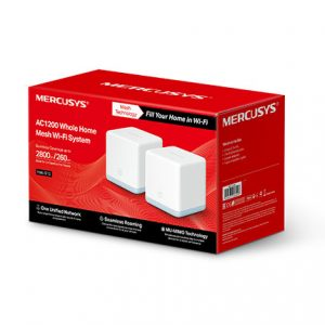 TP-LINK-Halo S12(2-pack)-Mercusys Halo S12(2-pack) AC1200 Whole Home Mesh Wi-Fi 1167Mbps System