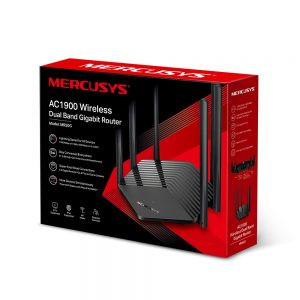 TP-LINK-MR50G-Mercusys MR50G AC1900 Wireless Dual Band Gigabit Router 600 Mbps@2.4 GhHz 1300Mbps@5 GHz