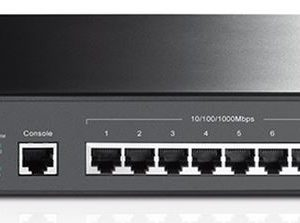 TP-LINK-T2500G-10TS(TL-SG3210)-TP-Link T2500G-10TS (TL-SG3210) JetStream 8-Port Gigabit L2 Managed Switch with 2 SFP Slots