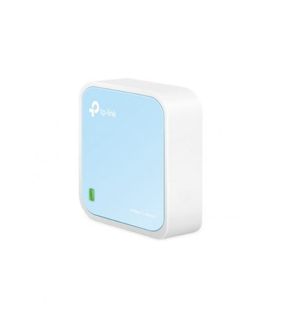 TP-LINK-TL-WR802N-TP-Link TL-WR802N N300 Wireless N Nano Router 2.4GHz 300Mbps 1x100Mbps LAN/WAN 1xMicro USB 802.11bgn Built-in Antenna Pocket Size Travel Router