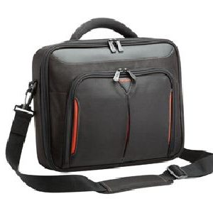 """Targus-CNFS415AU-Targus 15-15.6"""" Classic+ Clamshell Case/Laptop/Notebook Bag with File Section - Black"""
