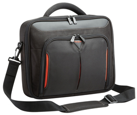 """Targus-CNFS418AU-Targus 18.2"""" ClClassic+ Clamshell Laptop Case/ Notebook bag with File Compartment - Black"""