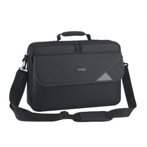"""Targus-TBC002AU-Targus 15.6"""" Intellect Bag Clamshell Laptop Case with Padded Laptop Compartment/ Laptop/Notebook Bag - Black"""
