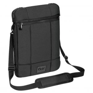 """Targus-TSS847AU-Targus 12"""" Grid High Impact Vertical Slipcase/Laptop/ Notebook Bag with Extreme Urban Protection  Weather Resistant- Black"""