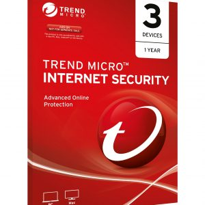 Trend Micro-TICIWWMBXSBXEO-Trend Micro Internet Security OEM 3 Devices 1 year