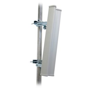 Ubiquiti-AM-2G15-120-Ubiquiti 2.3-2.7GHz AirMax Base Station Sectorized Antenna 15dBi 120 deg For Use With RocketM2 - All mounting accessories and brackets included