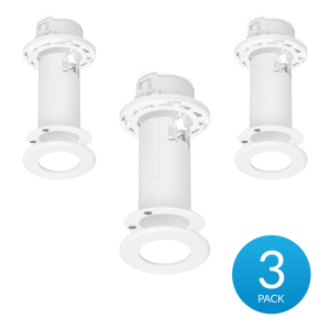Ubiquiti-FlexHD-CM-3-Ceiling Mount for the Ubiquiti Unifi FlexHD - 3 Pack