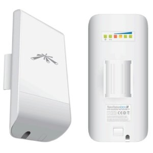 Ubiquiti-LOCOM2-AU-Ubiquiti airMAX Nanostation LOCO M 2.4GHz Indoor/Outdoor CPE - Point-to-Multipoint(PtMP) application - Includes PoE Adapter
