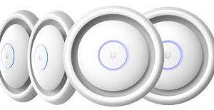 Ubiquiti-UAP-AC-EDU-4-Ubiquiti UniFi 802.11ac Dual-Radio AP with Broadcast PA