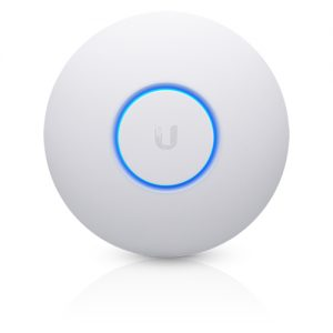 Ubiquiti-UAP-AC-PRO-AU-Ubiquiti UniFi AP AC PRO (Version-2) 802.11ac Dual Radio Indoor/Outdoor Access Point - Range to 122m with 1300Mbps Throughput (PoE- Included)