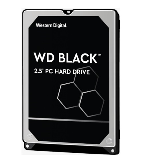 "Western Digital-WD5000LPSX-Western Digital WD Black 500GB 2.5"" HDD SATA 6gb/s 7200RPM 64MB Cache SMR Tech for Hi-Res Video Games 5yrs Wty"