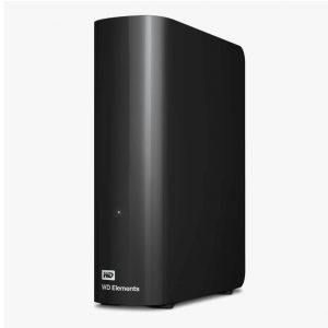 "Western Digital-WDBBKG0030HBK-AESN-Western Digital WD Elements Desktop 3TB USB 3.0 3.5"" External Hard Drive - Black Plug  Play Formatted NTFS for Windows 10/8.1/7"