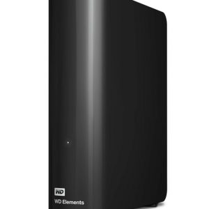 "Western Digital-WDBBKG0120HBK-AESN-Western Digital WD Elements Desktop 12TB USB 3.0 3.5"" External Hard Drive - Black Plug  Play Formatted NTFS for Windows 10/8.1/7"