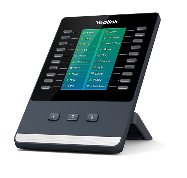 Yealink-EXP50-Yealink EXP50 Colour-screen Expansion Module for Yealink T5 Series IP phones