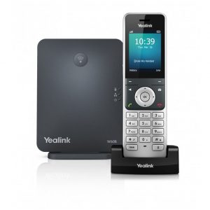 Yealink-W60P-Yealink W60P Wireless DECT Solution including W60B Base Station and 1x W56H Handset