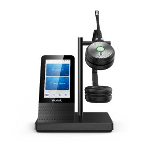 Yealink-WH66 Dual UC-Yealink WH66 Dual UC DECT Wirelss Headset With Touch Screen