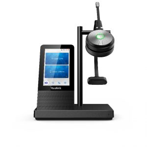 Yealink-WH66 Mono UC-Yealink WH66 Mono UC DECT Wirelss Headset With Touch Screen