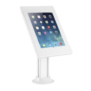 """Brateck-PAD26-03N-Brateck Anti-theft CountertopTablet KioskStand withBolt down base for 9.7""""/10.2"""" Ipad"""