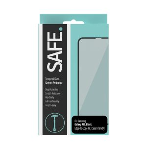 Panzer Glass-SAFE95054-SAFE Tempered Glass Screen Protector - Case Friendly - for Samsung Galaxy A12 - Drop Protective
