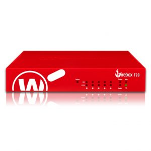 Watchguard-WGT20003-WW-WatchGuard Firebox T20 with 3-yr Standard Support (WW) - Only available to WGOne Silver/Gold Partners