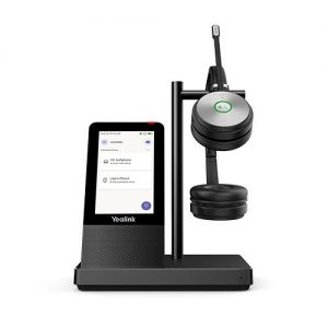 Yealink-WH66 Dual Teams-Yealink WH66 Dual Teams Edition  DECT Wirelss Headset With Touch Screen