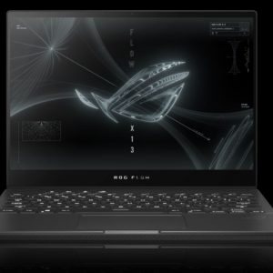 """ASUS Notebook-GV301QE-K6051T-Asus ROG Flow X13 GV301QE 13.4"""" FHD 120hz TOUCH AMD Ryzen 9 5900HS 16GB 512GB SSD WIN10 HOME NVIDIA GeForce RTX3050Ti Backlit 1.3kg 1YR Gaming (LS)"""