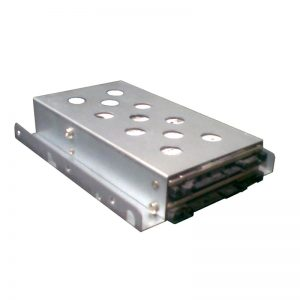 """TGC-TGC-02A-TGC Chassis Accessory 1 x 3.5"""" to 2 x 2.5"""" HDD/SSD Tray Converter Silver"""