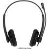 Yealink-UH34 Lite Dual Teams-Yealink UH34 Dual Ear Wideband Noise Cancelling Microphone - USB Connection