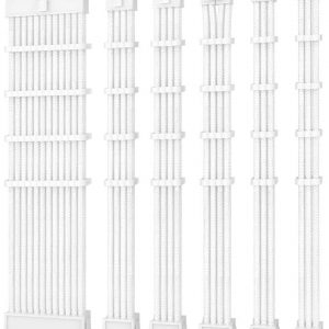 Antec-PSUSCW30-102-W-Antec PSU -  Sleeved Extension Cable Kit V2 - White. 24PIN ATX