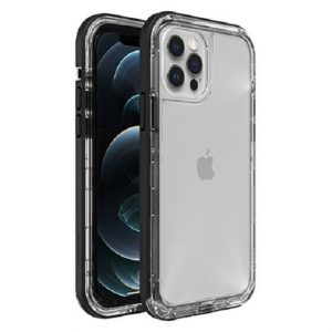 Otterbox-77-65426-LifeProof NEXT Case for Apple iPhone 12   iPhone 12 Pro - Black Crystal