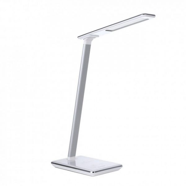 Simplecom-EL818-Simplecom EL818 Dimmable LED Desk Lamp with Wireless Charging Base