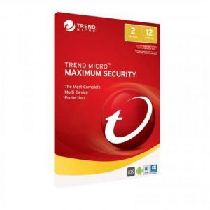 Trend Micro-TICEWWMFXSBJEO-Trend Micro Maximum Security (1-2 Devices) 1Yr Subscription Add-On