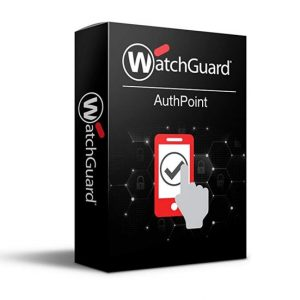 Watchguard-WGATH30403-WatchGuard AuthPoint - 3 Year - 251 to 500 Users - License Per User